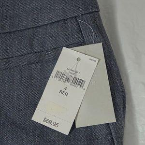 GAP Pants - Gap Modern Boot Cut Pants Linen Blend Women Size 4
